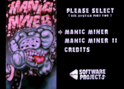 Manic Miner Amiga 01