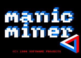 Manic Miner Amstrad CPC 01