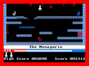 Manic Miner Amstrad CPC 09