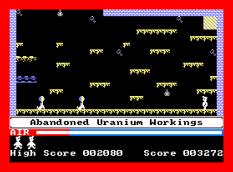 Manic Miner Amstrad CPC 11