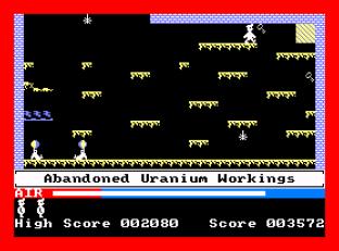 Manic Miner Amstrad CPC 12