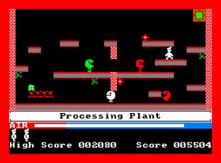 Manic Miner Amstrad CPC 20