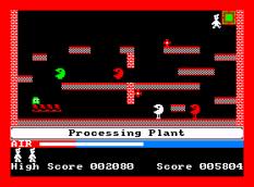 Manic Miner Amstrad CPC 21