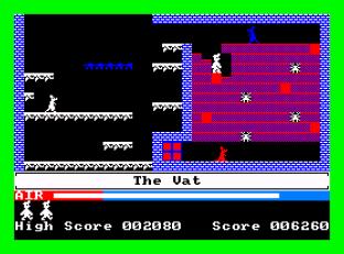 Manic Miner Amstrad CPC 23