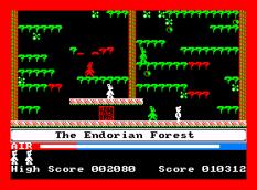 Manic Miner Amstrad CPC 32