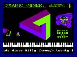 Manic Miner Amstrad CPC 35