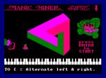 Manic Miner Amstrad CPC 36