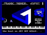 Manic Miner Amstrad CPC 37