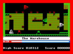 Manic Miner Amstrad CPC 44