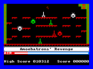 Manic Miner Amstrad CPC 45