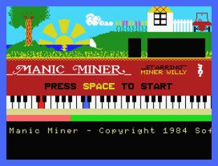Manic Miner MSX 01