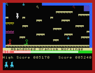 Manic Miner MSX 09