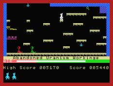 Manic Miner MSX 10