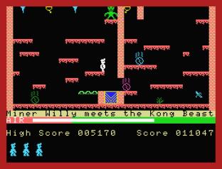 Manic Miner MSX 20