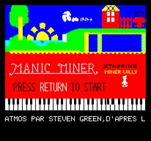 Manic Miner Oric 01