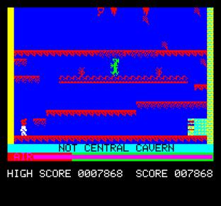 Manic Miner Oric 31
