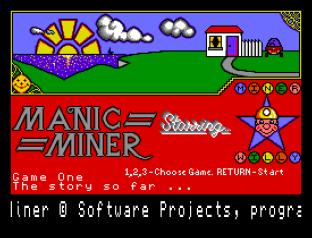 Manic Miner Sam Coupe 01