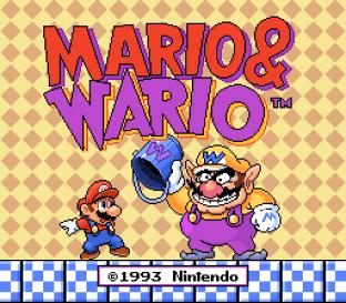 Mario and Wario SNES 01