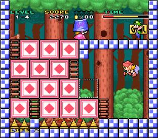 Mario and Wario SNES 09