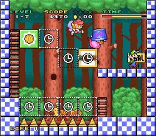 Mario and Wario SNES 12