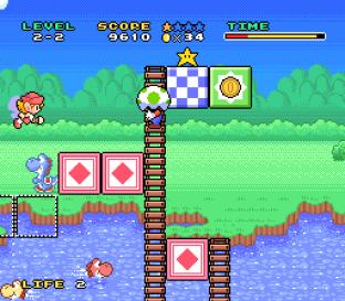 Mario and Wario SNES 23