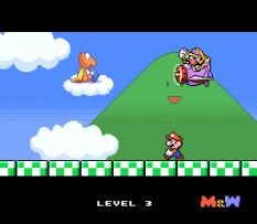 Mario and Wario SNES 32