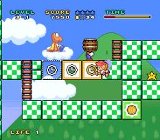 Mario and Wario SNES 33