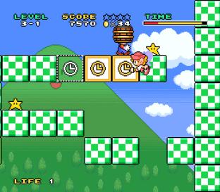 Mario and Wario SNES 34