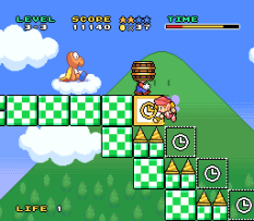 Mario and Wario SNES 43