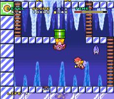 Mario and Wario SNES 55
