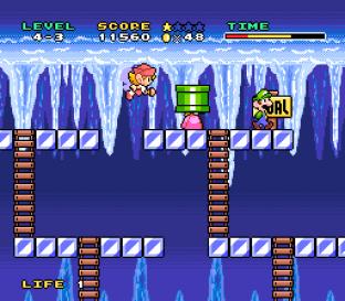 Mario and Wario SNES 56