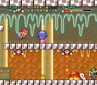 Mario and Wario SNES 75