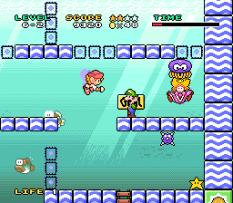 Mario and Wario SNES 88