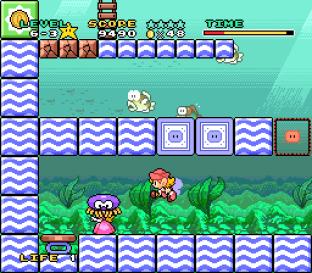 Mario and Wario SNES 89