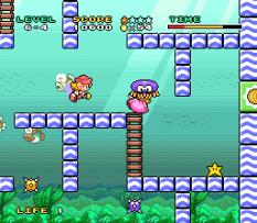 Mario and Wario SNES 96