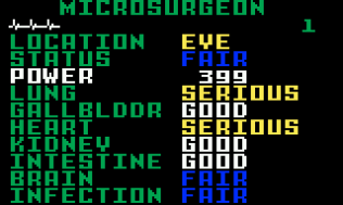 Microsurgeon Intellivision 02