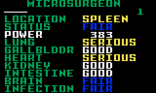 Microsurgeon Intellivision 08