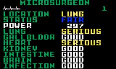 Microsurgeon Intellivision 15