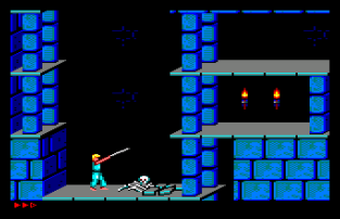 Prince of Persia Amstrad CPC 09