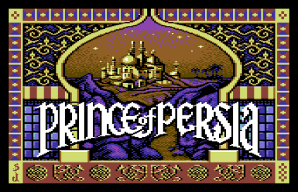 Prince of Persia C64 01