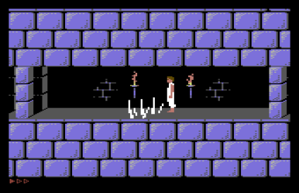 Prince of Persia C64 31