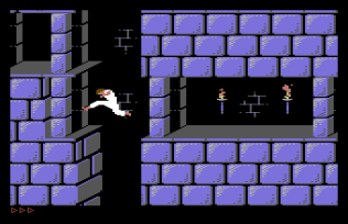 Prince of Persia C64 32