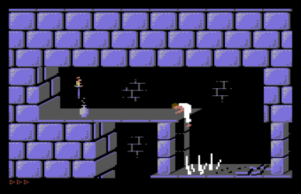 Prince of Persia C64 34