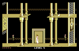 Prince of Persia C64 66