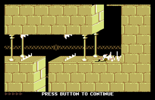 Prince of Persia C64 77