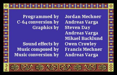 Prince of Persia C64 78
