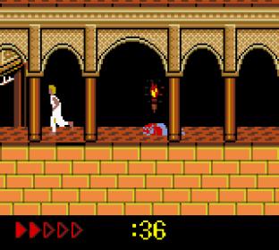 Prince of Persia GBC 75