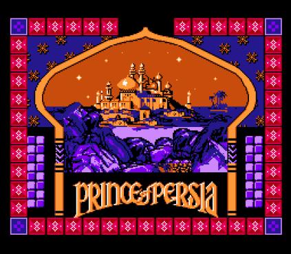 Prince of Persia NES 01