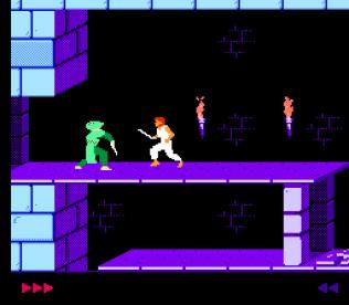 Prince of Persia NES 21