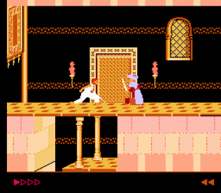 Prince of Persia NES 54